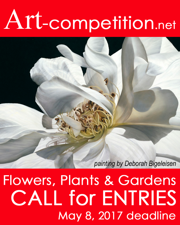 Learn more about the Flowers, Plants and Gardens exhibit from Art-competition.net!