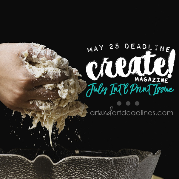 Learn more about the July International Print Issue of Create Magazine!