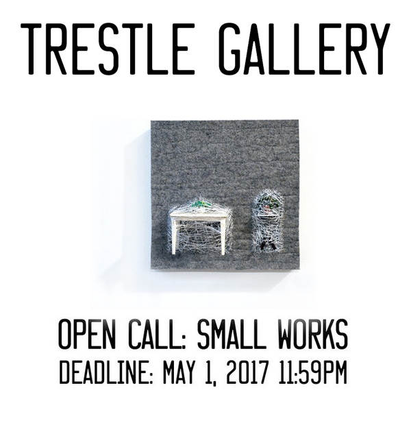 Learn more about the Small Works show from the Trestle Gallery!