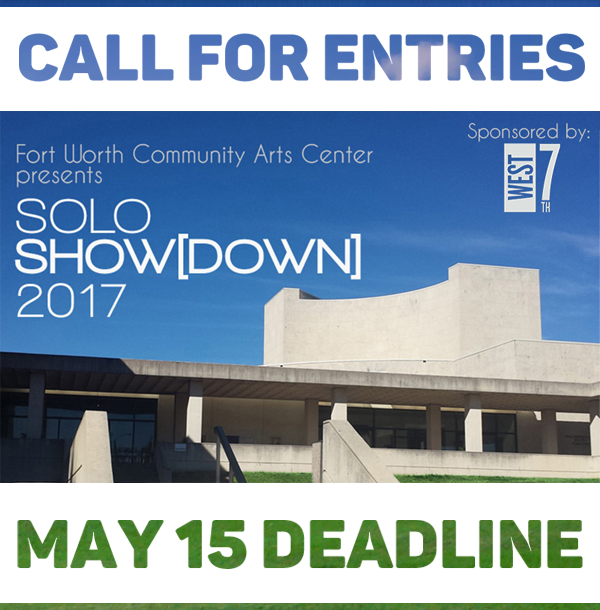 Learn more about Solo Showdown from the Fort Worth Community Arts Center!