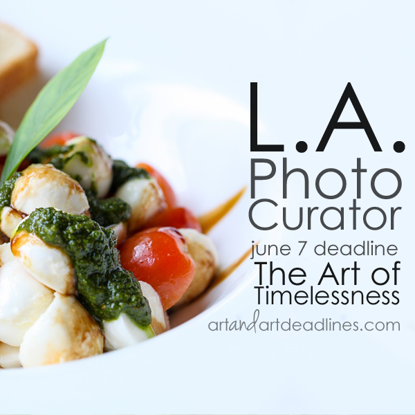 Learn more about The Art of Timelessness Call from LA Photo Curator!