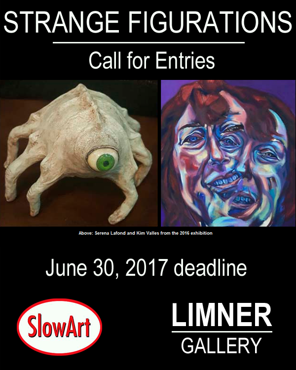 Learn more about the 2017 Strange Figurations show from SlowArt Productions and the Limner Gallery!