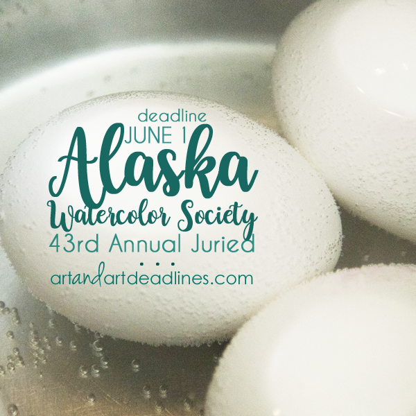 Learn more about the 43rd Annual Juried from the Alaska Watercolor Society!