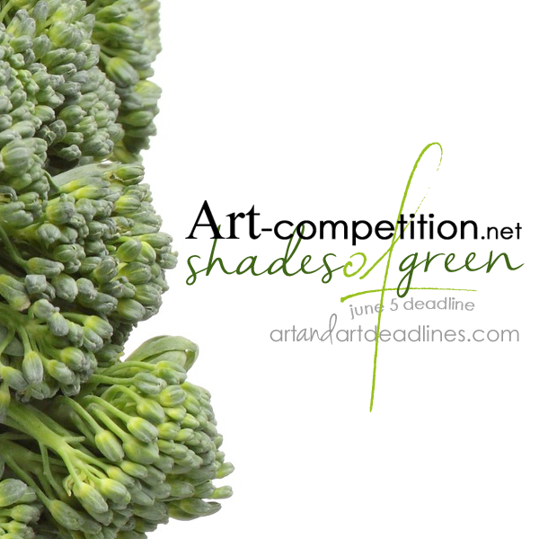Learn more about the Shades of Green exhibit from Art-competition.net and G25N!