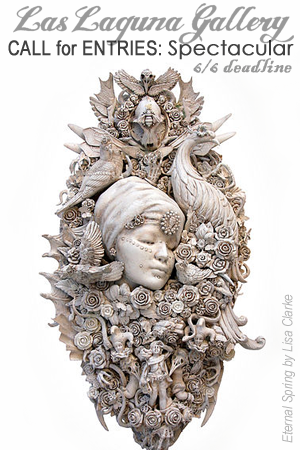 Learn more about the Spectacular Exhibit from Las Laguna Gallery (image: Eternal Spring by Lisa Clarke)!