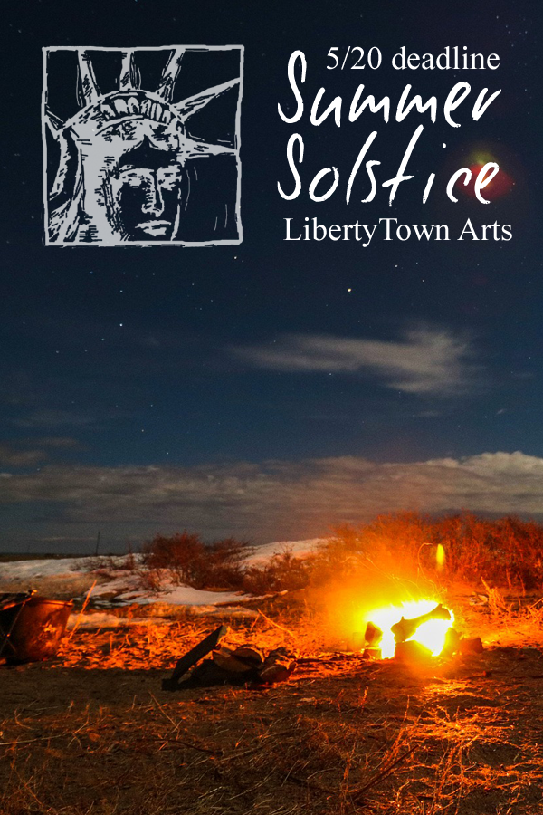 Learn more about the Summer Solstice Exhibit from LibertyTown Arts!