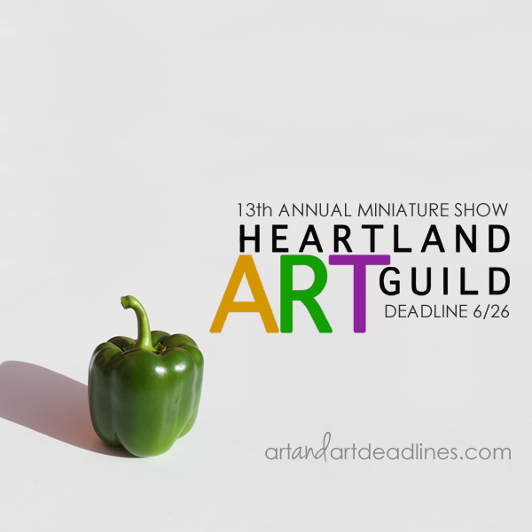 Learn more about the 13th Annual Miniature Show from the Heartland Art Guild!