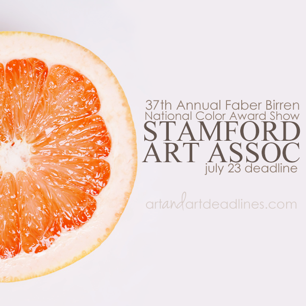 Learn more about the 37th Annual Faber Birren National Color Award Show from the Stamford Art Association!