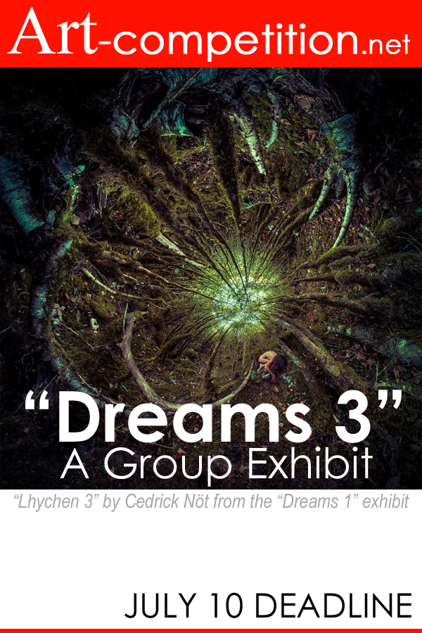Learn more about the Dreams 3 exhibit from G25N and Art-competition.net!