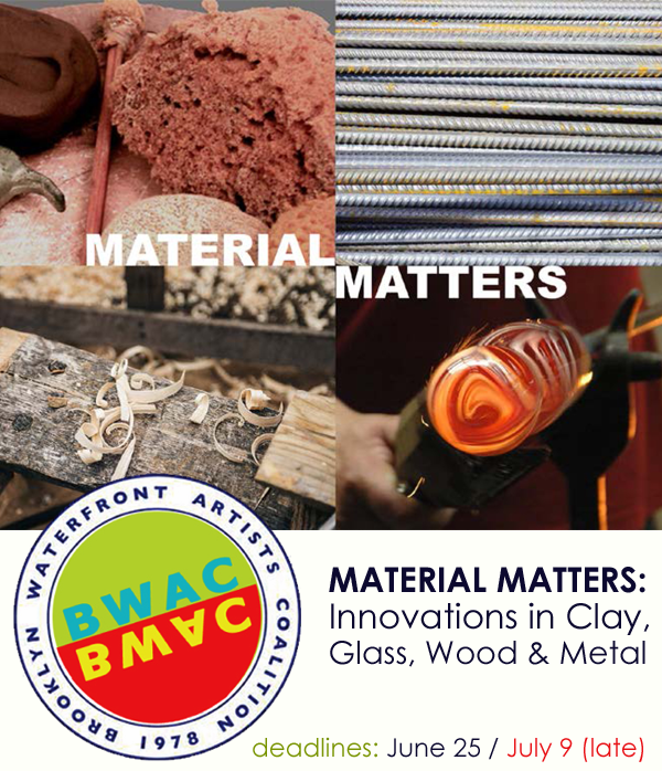 Learn more about the Materials Matter from Brooklyn Waterfront Artists Coalition (BWAC)!
