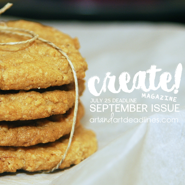 Learn more about the September print Issue of Create! Magazine