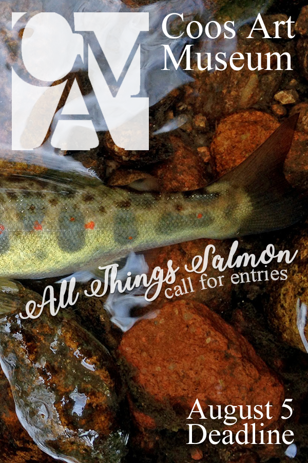Learn more about the All Things Salmon exhibit from the Coos Art Museum!