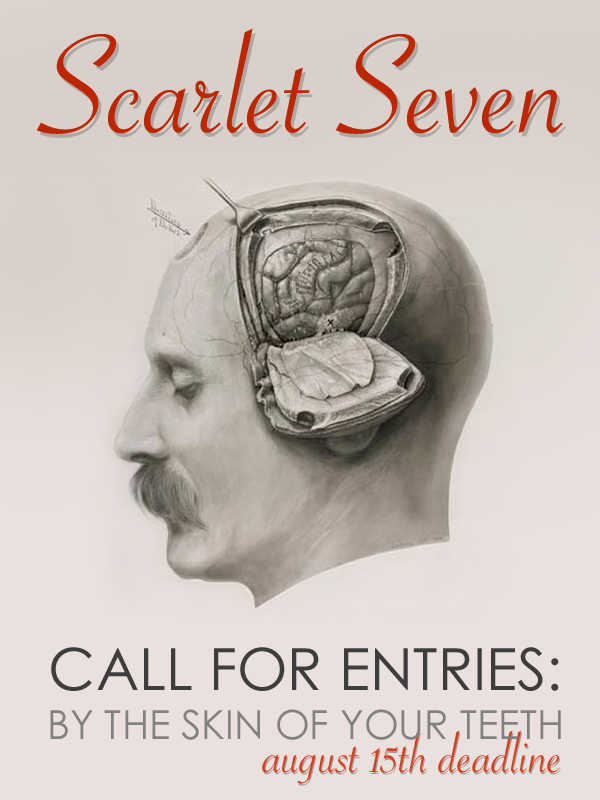 Learn more about the By the Skin of Your Teeth exhibit from Scarlet Seven Gallery!