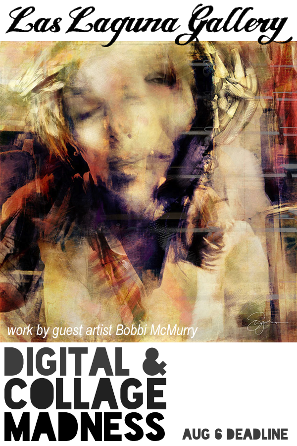 Learn more about the Digital and Collage Madness exhibit from the Las Laguna Gallery!