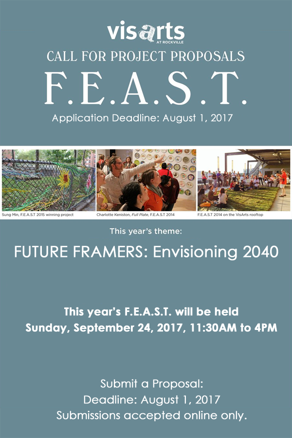 Learn more about the Future Framers FEAST from VisArts!