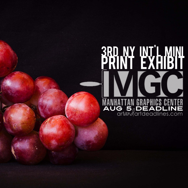 Learn more about the NY Int'l Miniature Print Exhibition from Manhattan Graphics Center!