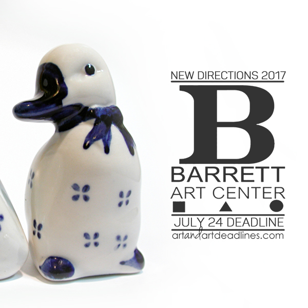Learn more about the New Directions exhibit from the Barrett Art Center!