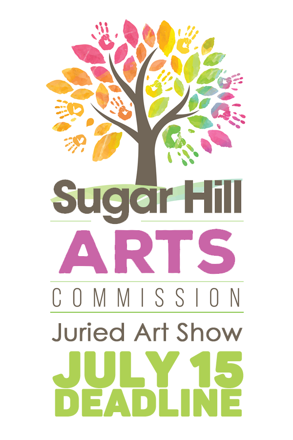 Learn more about the Sugar Rush Juried Art Show from Sugar Hill Art Commission!