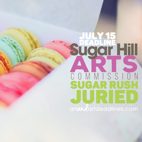 Learn more about the Sugar Rush Juried Show from the Sugar Hill Arts Commission!