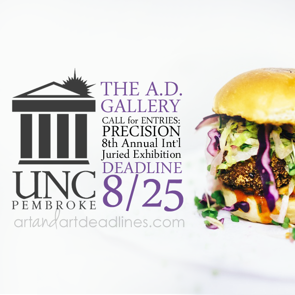 Learn more about Precision, the 8th Annual Juried show, from The AD Gallery at UNC Pembroke!