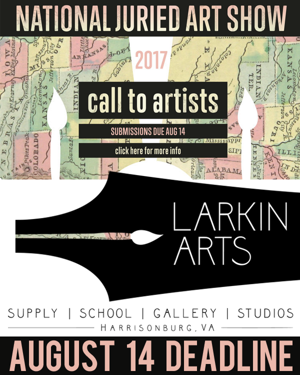 Learn more about the 2017 National Juried Exhibition from Larkin Arts!