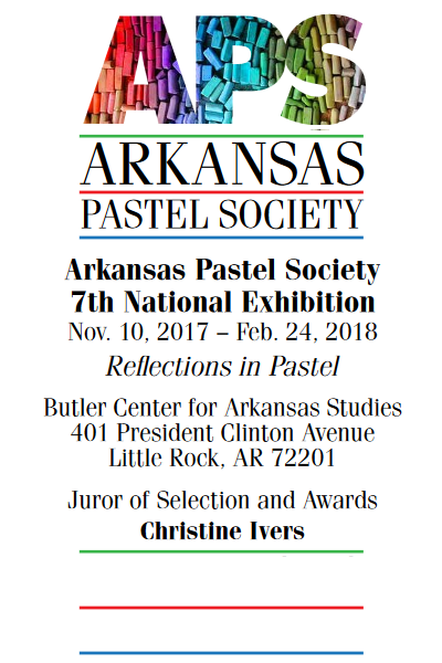 Learn more about the 7th Annual National Juried from the Arkansas Pastel Society!