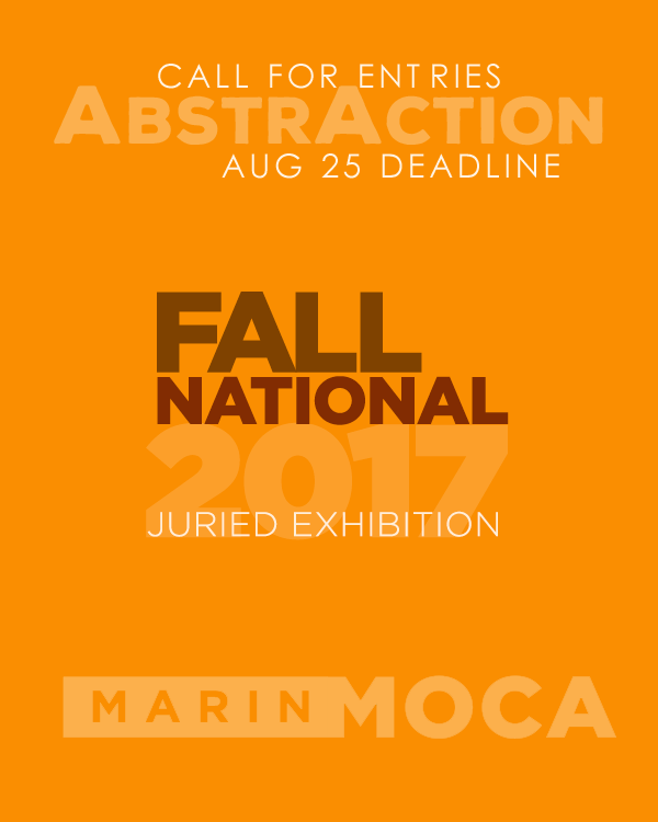 Learn more about the AbstrAction exhibit at the Marin MOCA!