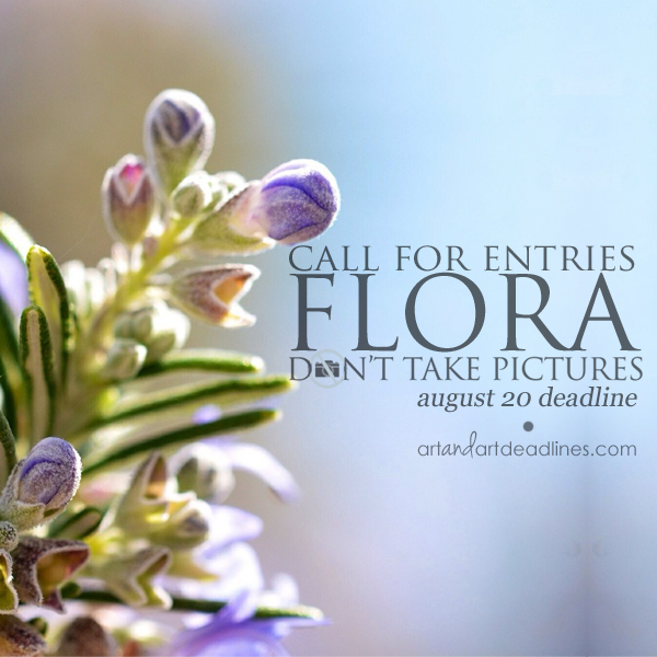 Learn more from Don't Take Pictures about the Flora exhibit!