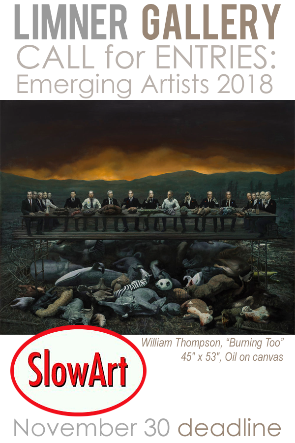 Learn more about the Emerging Artists 2018 Exhibit from SlowArt Productions and the Limner Gallery!