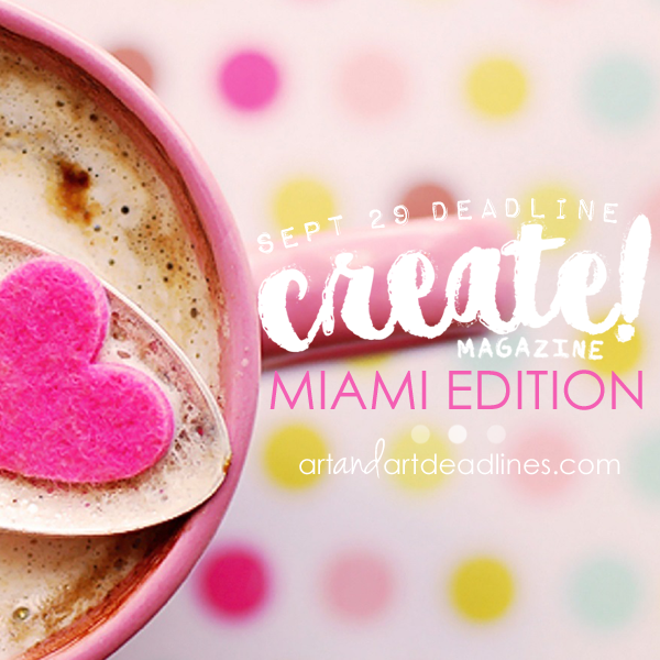 Learn more about the Miami Edition of Create Magazine!