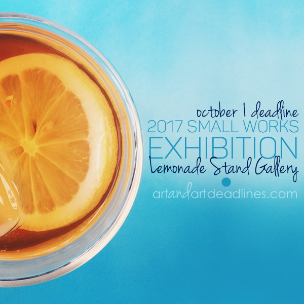 Learn more about the Small Works exhibit from the Lemonade Stand Gallery!