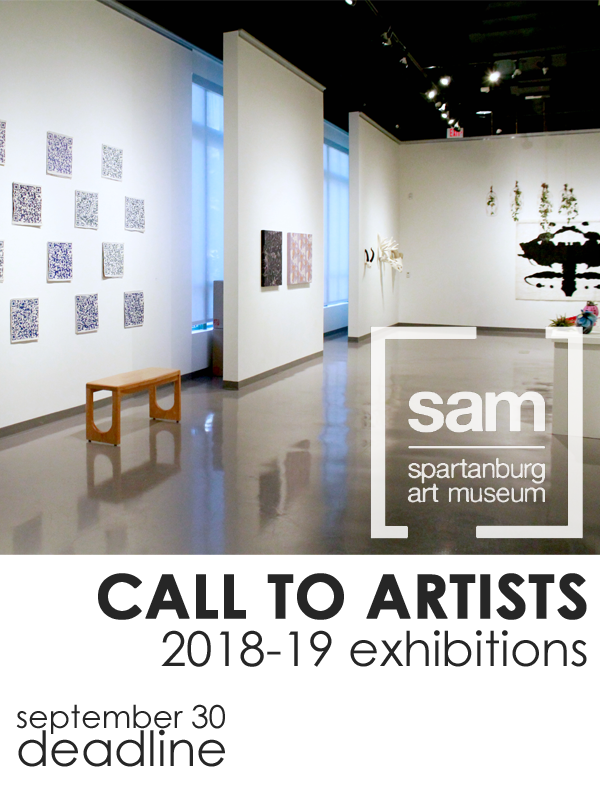 Learn more about the call for 2018-19 exhibitions from the Spartanburg Art Museum!
