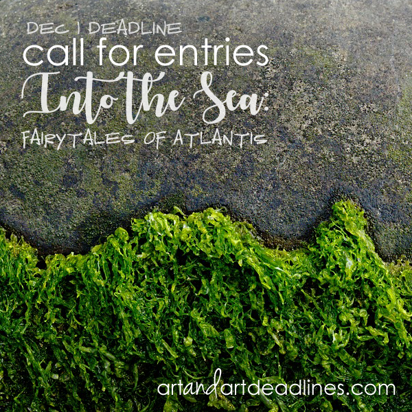 Learn more abou the Fairytales of Atlantis, the Into the Sea poetry art book project!
