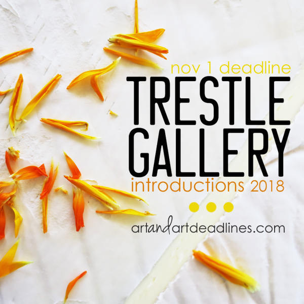 Learn more about the Introductions 2018 show from The Trestle Gallery!