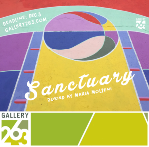 Learn more about the Sanctuary exhibit from Gallery 263 in Cambridge, MA!