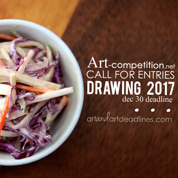 Learn more about Drawing 2017 and the Christopher E Burke Grant from art-competition.net!