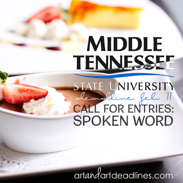 Learn more about the Spoken Word Call from Middle Tennessee State University!