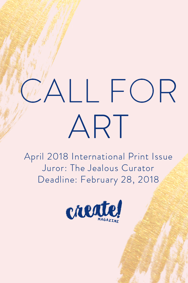 Learn more about the April 2018 International Issue from Create Magazine!