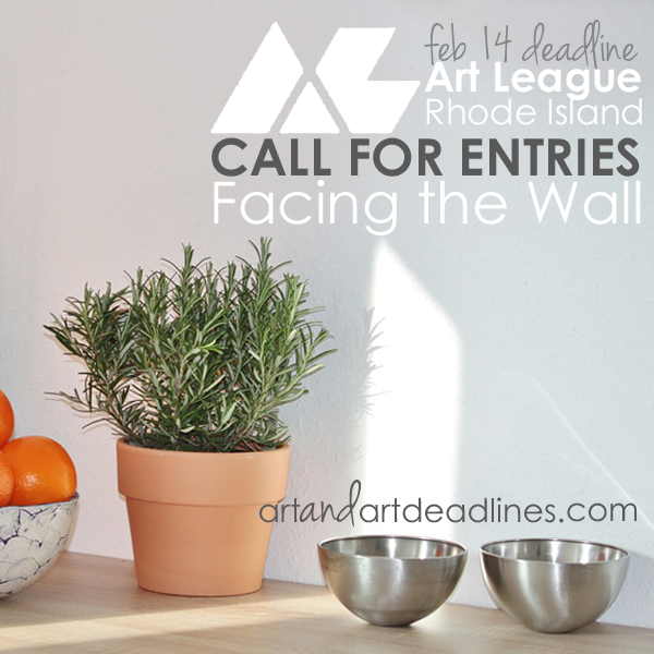 Learn more about the Facing the Wall exhibit from Art League Rhode Island!