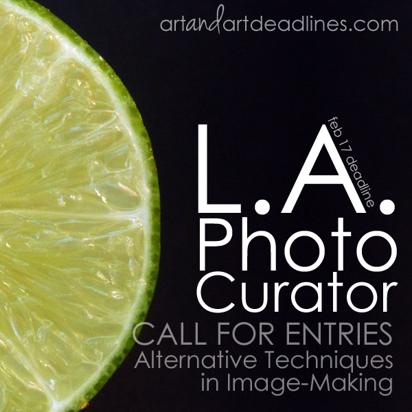 Learn more about the Alternative Techniques Call from LA Photo Curator!