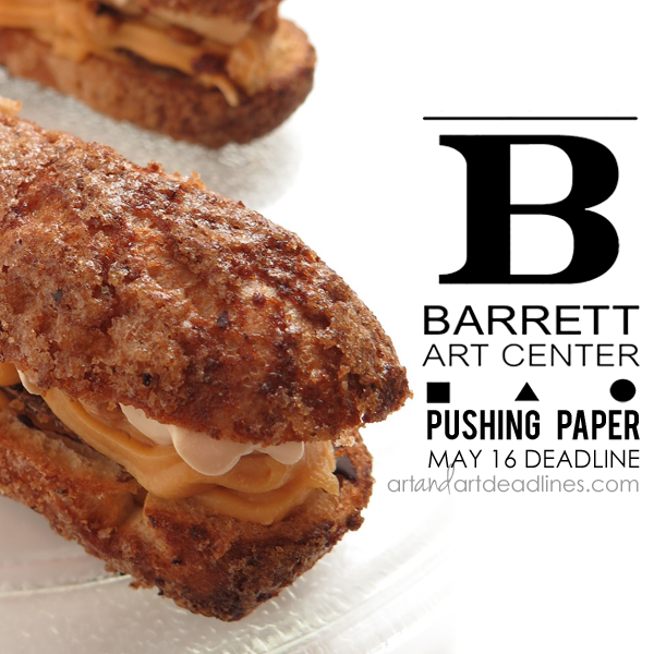 Learn more about the Pushing Paper exhibit from the Barrett Art Center!