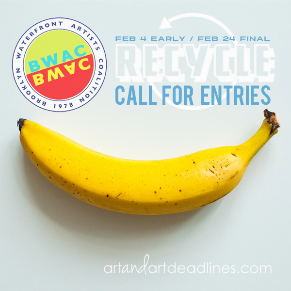 CALL for ENTRIES: Recycle 2019 | Art and Art Deadlines com
