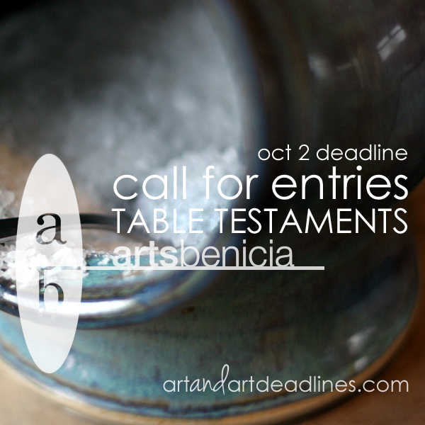 Learn more about the Table Testaments exhibits from the Arts Benicia Gallery!