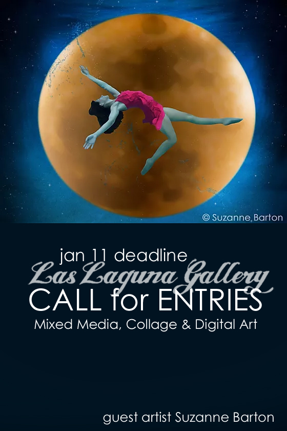 Learn more about the Mixed Media, Collage & Digital Art Exhibit from Las Laguna Gallery!